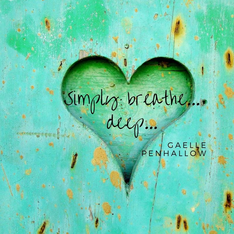 Simply breathe deep